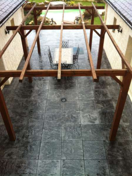 b ton cir gris clair pour un magasin orthez 64 r alisations b ton cir b ton. Black Bedroom Furniture Sets. Home Design Ideas